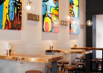 Refuge Tap Room - Victoria BC - Wired by Titan Electric